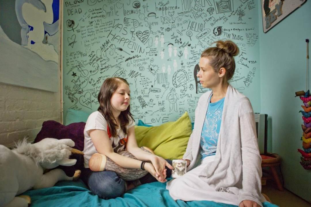 teen sleep teenage sexuality talking