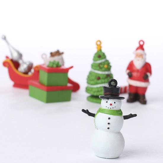 diy christmas figurine ornaments