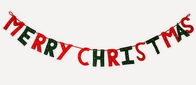 christmas diy banner