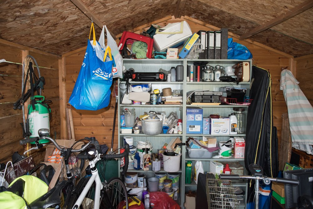 WHAT YOUR HOUSEHOLD CLUTTER SAYS ABOUT YOUR STATE OF MIND