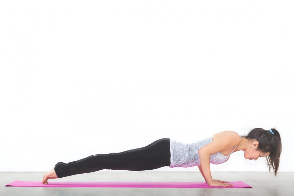 Low Plank Pose