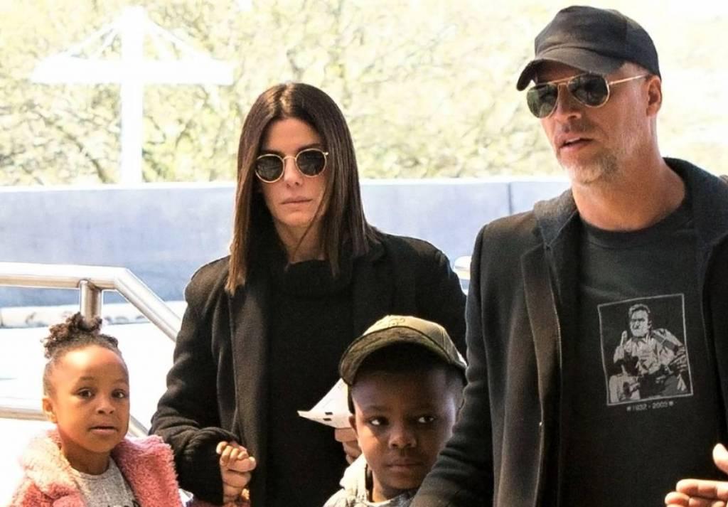 Sandra Bullock family